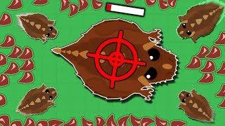 Mope.io Little dino monsters kill everyone! Мопио мини монстры!