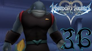 Let's Play Kingdom Hearts Birth By Sleep Walkthrough Gameplay Part 36 Aqua Deep Space