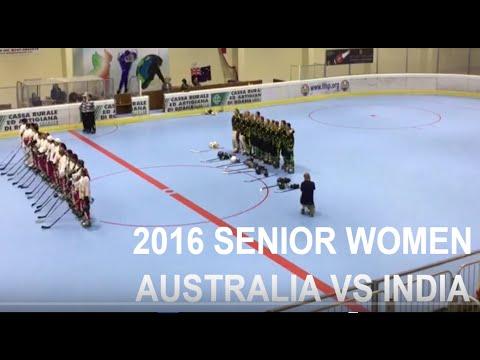 2016 FIRS WORLDS SENIOR WOMEN - AUSTRALIA VS INDIA