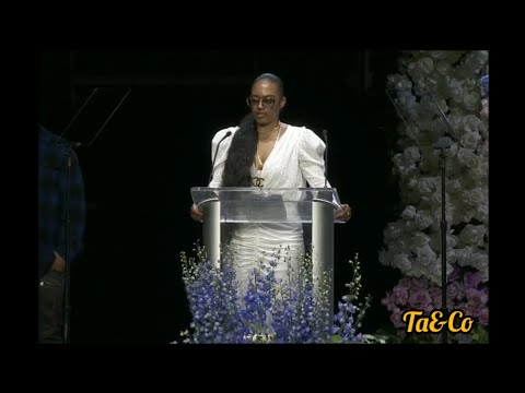 Nipsey Hussle's sister gives a tribute