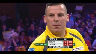 9 DARTER DAVE CHISNALL - GRAND SLAM OF DARTS 2015 HD