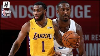 Los Angeles Lakers vs Golden State Warriors - Full Highlights | July 12, 2019 NBA Summer League Video