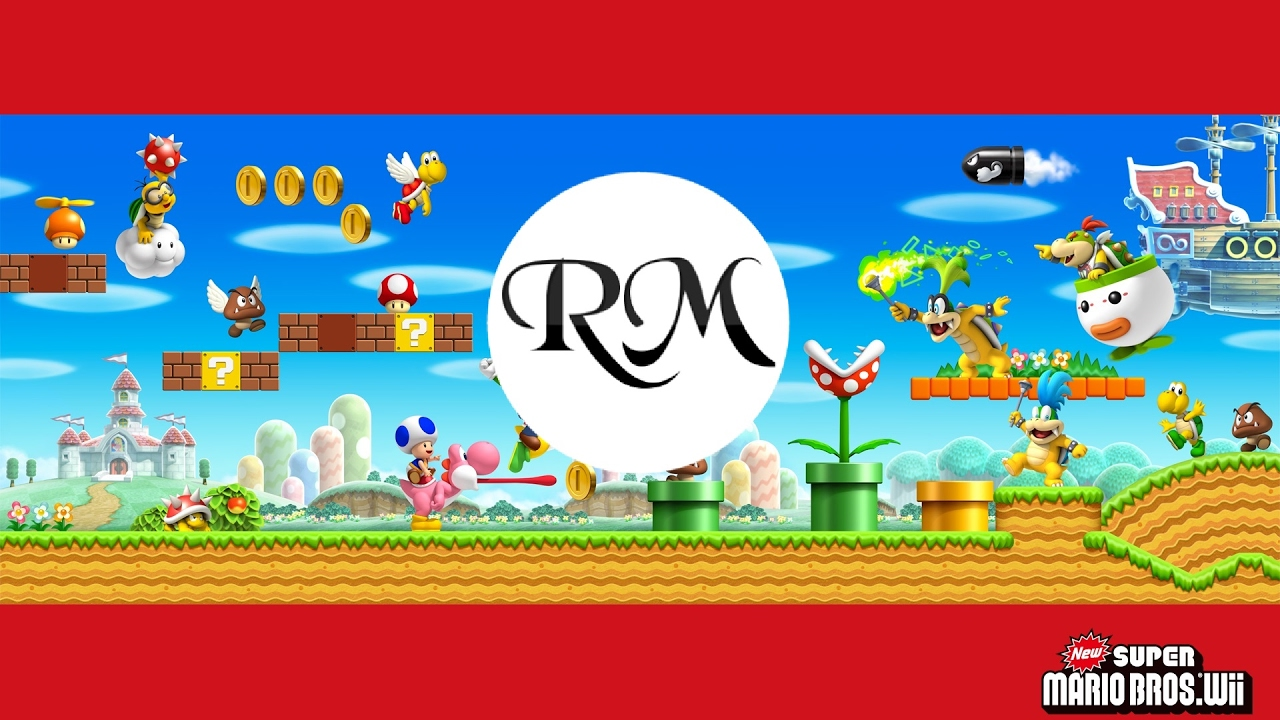 New Super Mario Bros Wii Overworld Theme Backwards - YouTube
