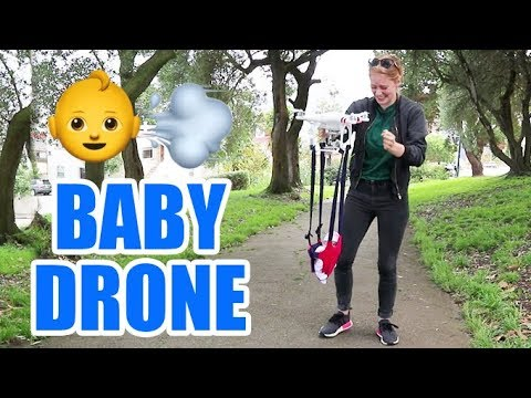 This drone that carries your child is terrifying
