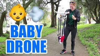 This drone that carries your child is terrifying by : Simone Giertz