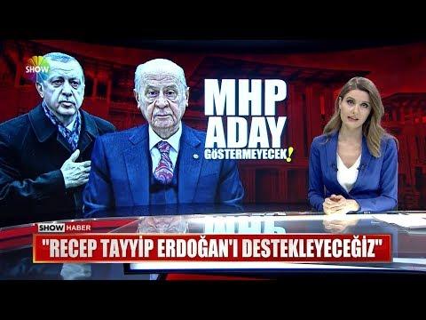 """Bahçeli: """"Recep Tayyip Erdoğan'ı destekleyeceğiz"""""""