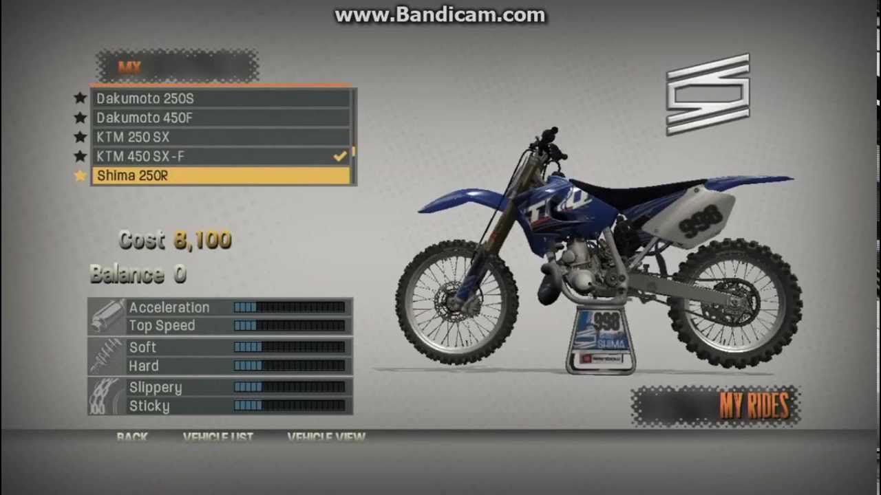 <b>MX vs ATV Reflex Cheats</b> (NOT ALL <b>CHEATS</b>) - YouTube