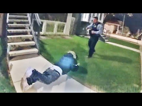 VIDEO: Police bodycam shows lethal shooting of armed Chicago man during foot chase