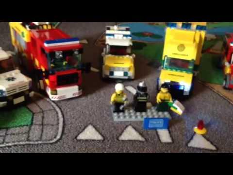 UK Lego Emergency vehicles