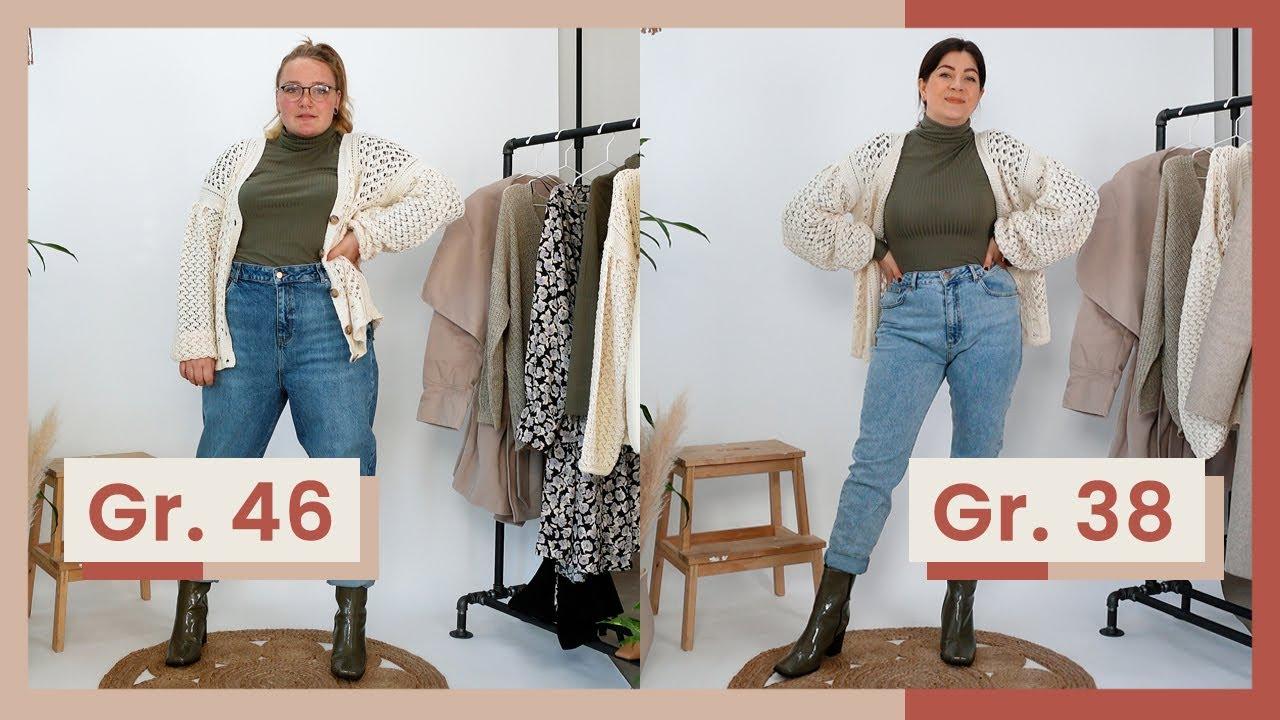 3 winter looks 2020 in gr. 38 und gr. 46   outfits die jeder figur stehen    kleinundkurvig