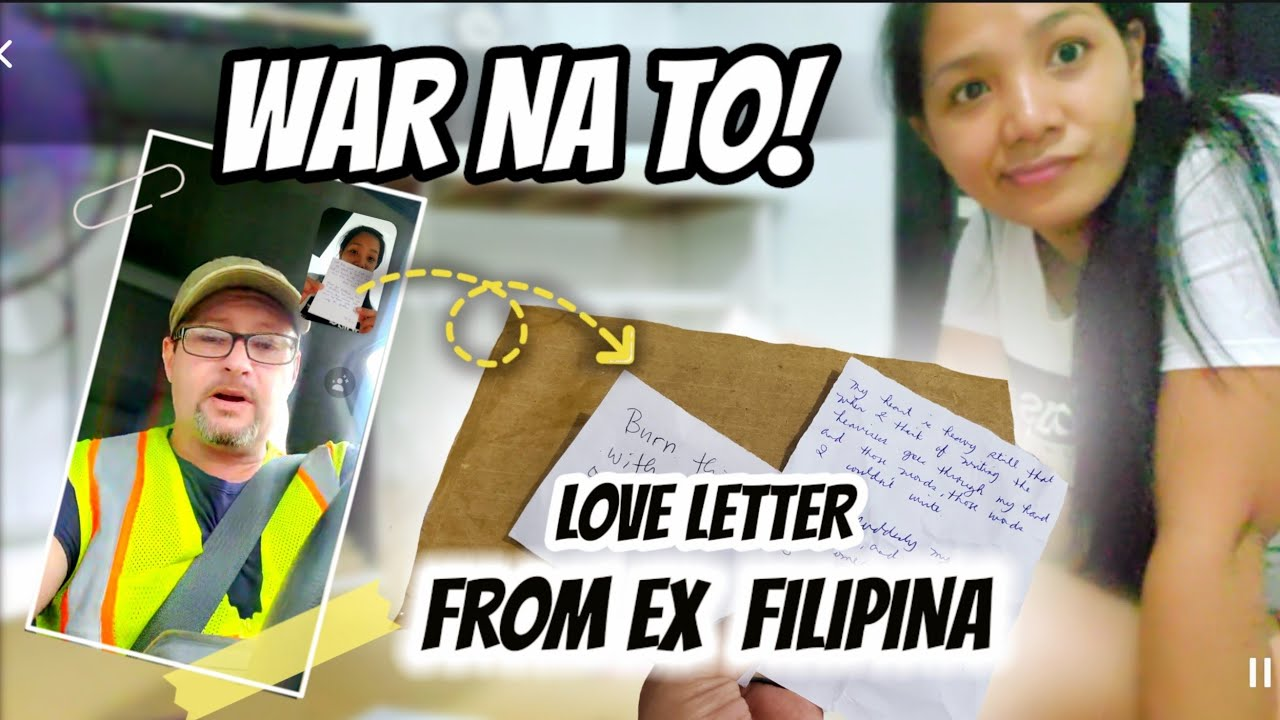 I found his Love Letters From Ex-Filipina   His reaction   The Armstrong Family