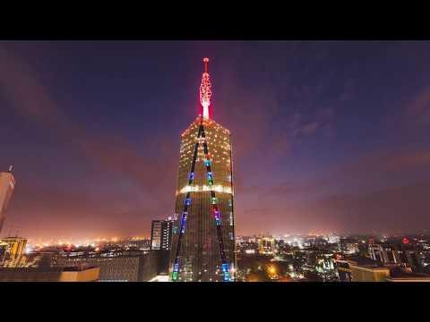 Nairobi Timelapse - Britam Tower