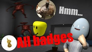 Roblox - Hmm... | How to get all badges [Old]