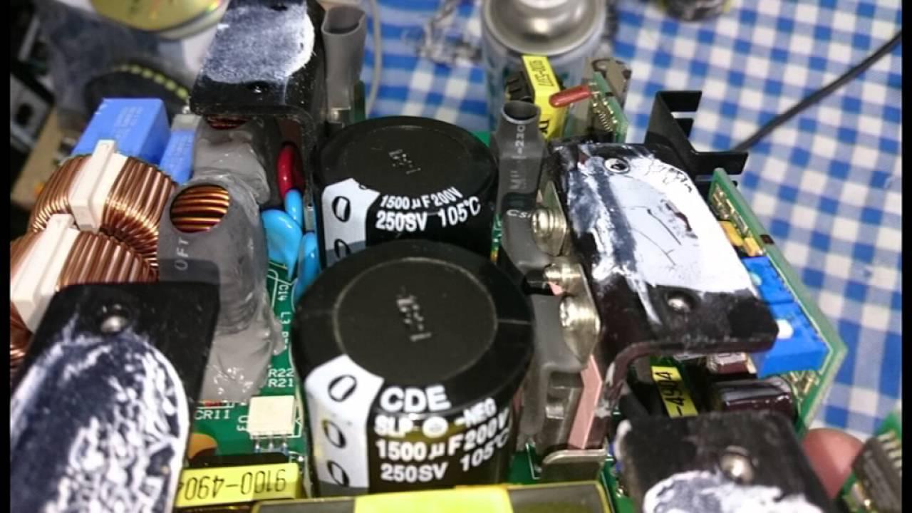 HP 8924C Power Supply Problem Repair