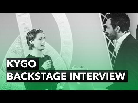 KYGO - Backstage Interview - The 2015 Nobel Peace Prize Concert