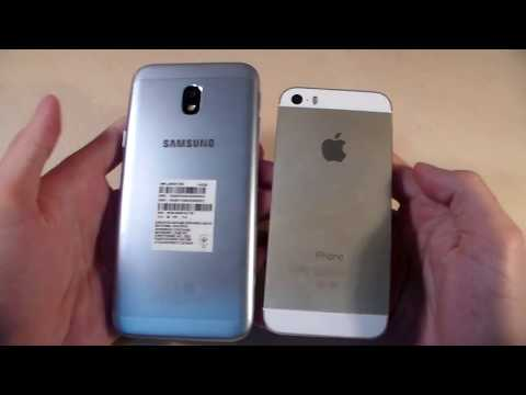 Samsung Galaxy J3 2017 Vs IPhone 5S