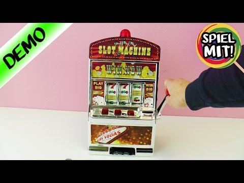 EINARMIGER BANDIT Casino Slot Machine für Zuhause! Witziges Spielzeug für Challenges! Spiel mit mir