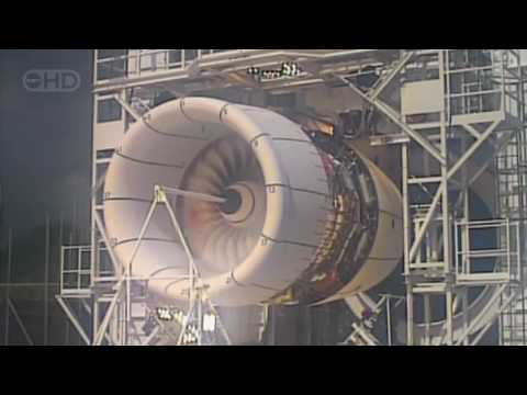 Thumbnail: Airbus A380 Engine Explosion Test - HD