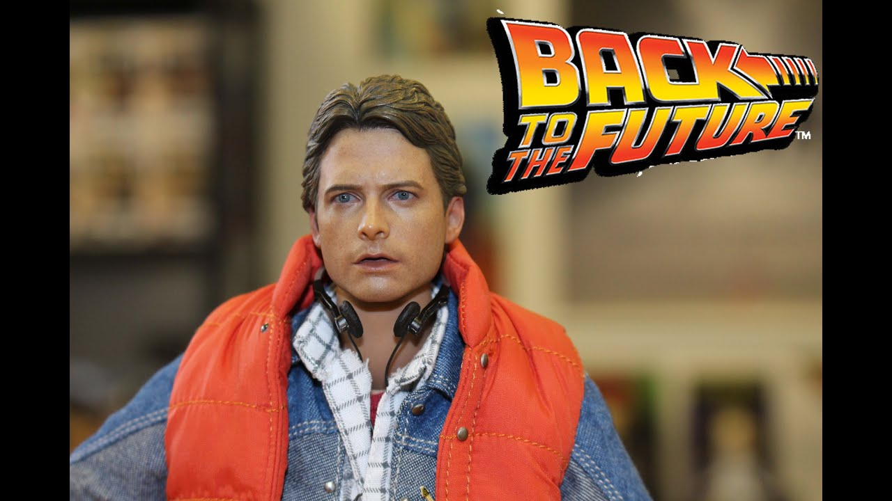 hot toys back to the future marty mcfly figure unboxing slideshow youtube. Black Bedroom Furniture Sets. Home Design Ideas