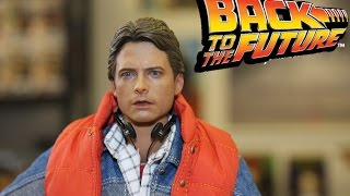 Hot Toys Back to the Future Marty McFly Figure Unboxing Slideshow