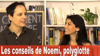 COMMENT APPRENDRE LE FRANÇAIS - Les conseils de Noemi, polyglotte