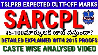 #tslprb||TSLPRB SARCPL EXPECTED CUTTOFF MARKS2019||TSLPRB SPF CUTTOFF||TSLPRB CIVIL EXPECTED CUTTOFF