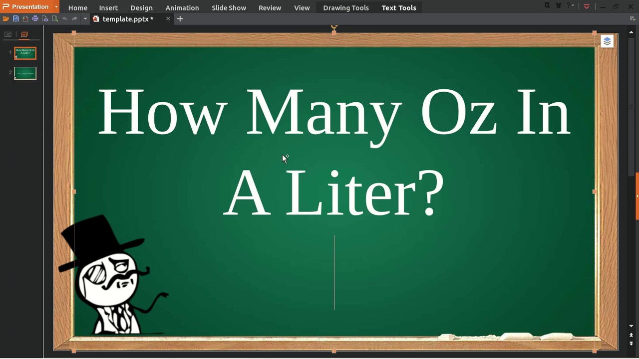 How Many Oz In A Liter - YouTube