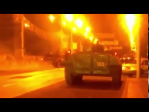 Ukraine War - Russian army equipment in Donetsk Ukraine