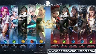 [Japan Moba Game 5v5] [War Song] First Gameplay Walkthrough HD Preview
