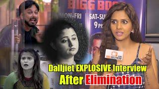 Dalljiet Kaur Eviction Interview | Bigg Boss 13 First Elimination | Weekend Ka Vaar