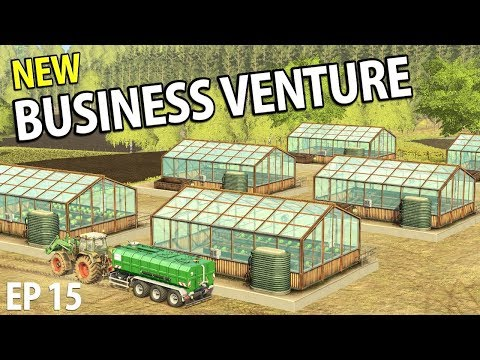 NEW BUSINESS VENTURE | Farming Simulator 17 | The Valley The Old Farm - Episode 15