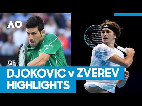 Novak Djokovic vs Alexander Zverev Match Highlights (QF) | Australian Open 2021