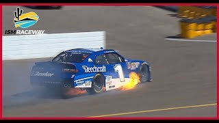 Elliott Sadler Has Early Trouble During Practice