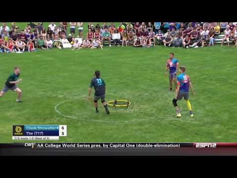 Super Rare Spikeball Double-Touch Return on ESPN2