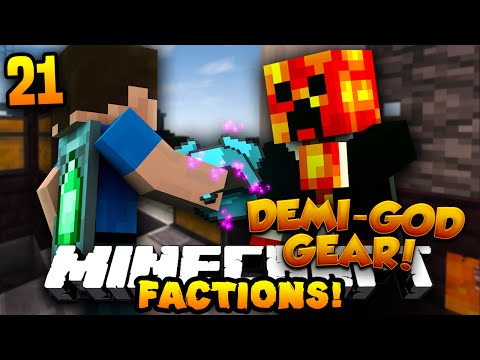 "Minecraft COSMIC FACTIONS ""BUYING DEMI-GOD GEAR!"" #21 w/PrestonPlayz (Season 6)"