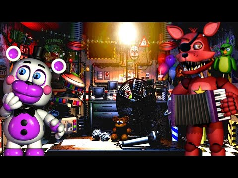 FNaF 6 and Ultimate Custom Night Minecraft Map