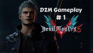 Devil May Cry 5 Prologue Mission 1 walkthrough O inicio