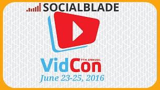 📹 Social Blade Prepares For Vidcon 🎪