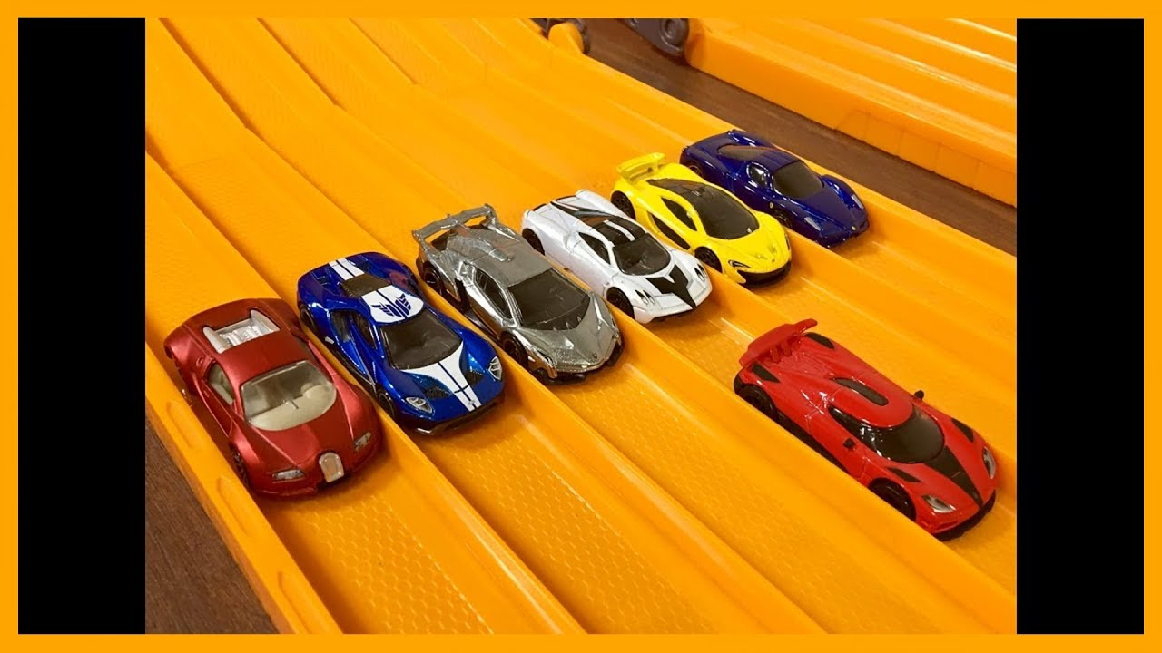Koenigsegg Agera R vs 6 Hypercar Exotics - Hot Wheels ...