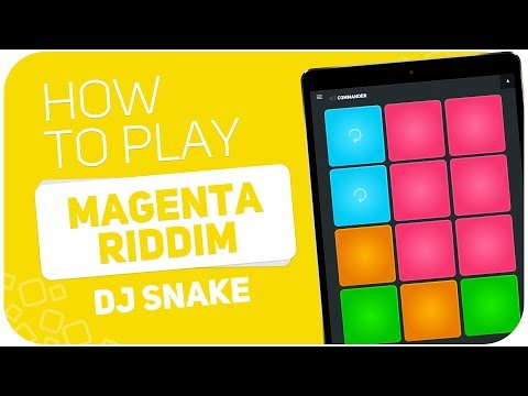 Free Download How To Play: Magenta Riddim (dj Snake) - Super Pads - Kit Commander Mp3 dan Mp4