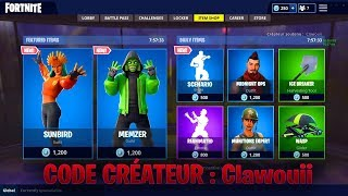 BOUTIQUE FORTNITE DU 5 MARS 2019 - FORTNITE ITEM SHOP MARCH 5 2019 - NEW SKIN !!