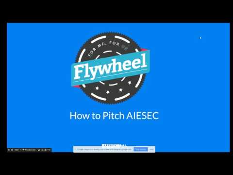 How to Pitch AIESEC