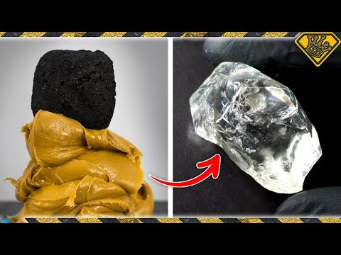 turning-coal-into-diamonds,-using-peanut-butter