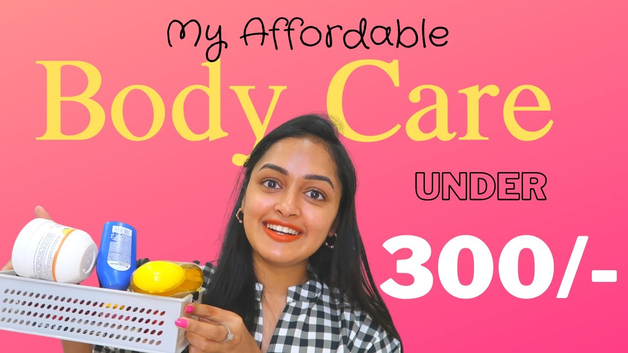 My Affordable Body Care Routine to Smell Good All Day + Smooth Glowy Skin! || UNDER 300RS