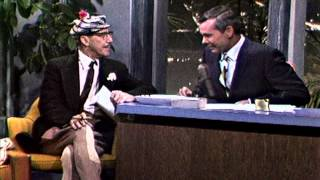 Groucho Marx Surprises Johnny Carson in His Animal Crackers Suit onThe Tonight Show