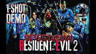 Resident Evil 2 Remake Speedrun/ Tráiler Exclusivo One Shot Edition/ Gameplay Español 3:36