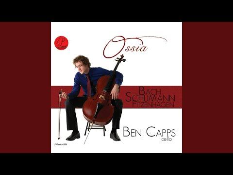 Cello Concerto in A Minor, Op. 129: Sehr lebhaftm (Arr. Anssi Karttunen)
