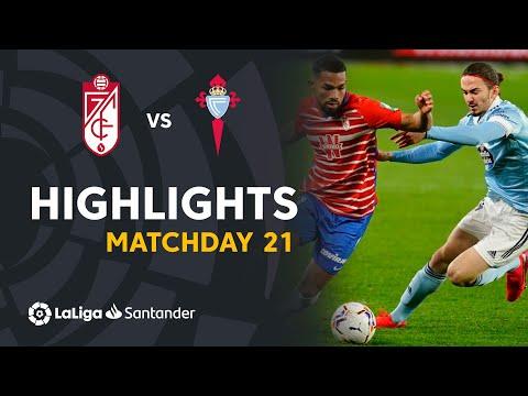 Granada Celta Vigo Goals And Highlights