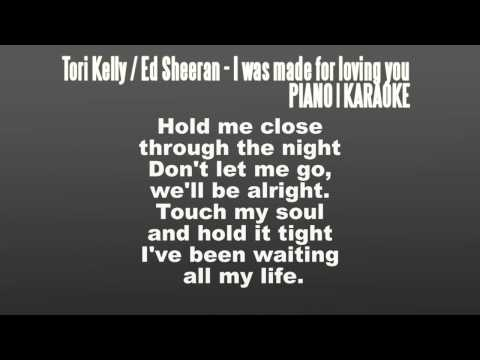 karaoke-/-lower-key-│-tori-kelly-ft.-ed-sheeran---i-was-made-for-loving-you-│-piano