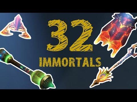 видео: 32 Самые дешевые immortal в dota 2!